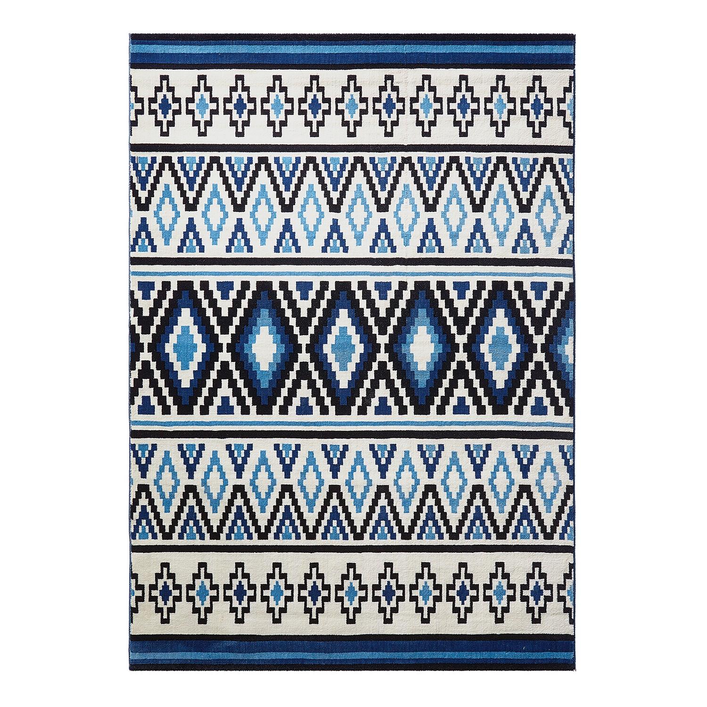 Vloerkleed Happy Kelim - Blauw - 120x170cm, Wecon Home