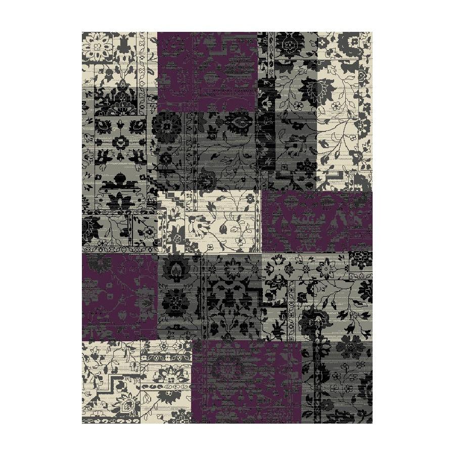 Teppich Heila - Grau/Violett - 160 x 230 cm, Hanse Home Collection