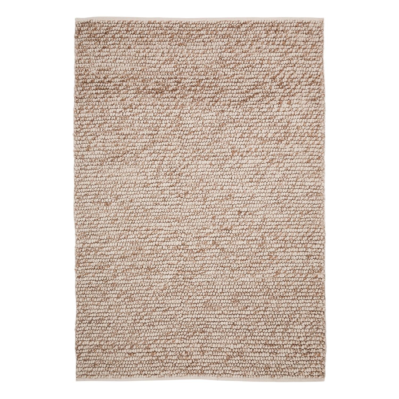 Wollteppich Hellerup - Mischgewebe Beige 200 x 290 cm Sale Angebote Guhrow