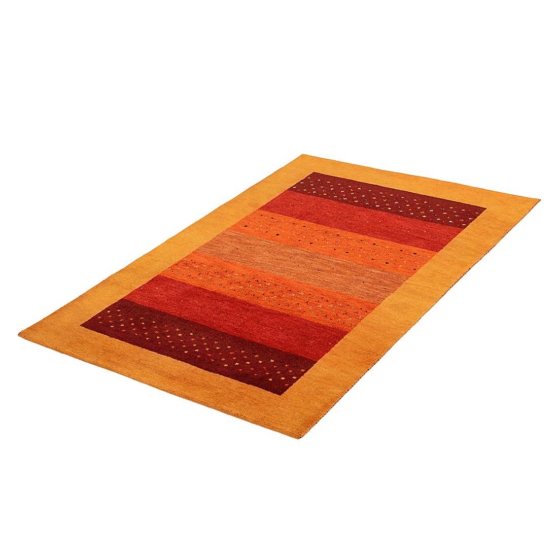 Taptij Indo Gabbeh Yamunanagar - rood 100% scheerwol 140cmx200cm, Parwis