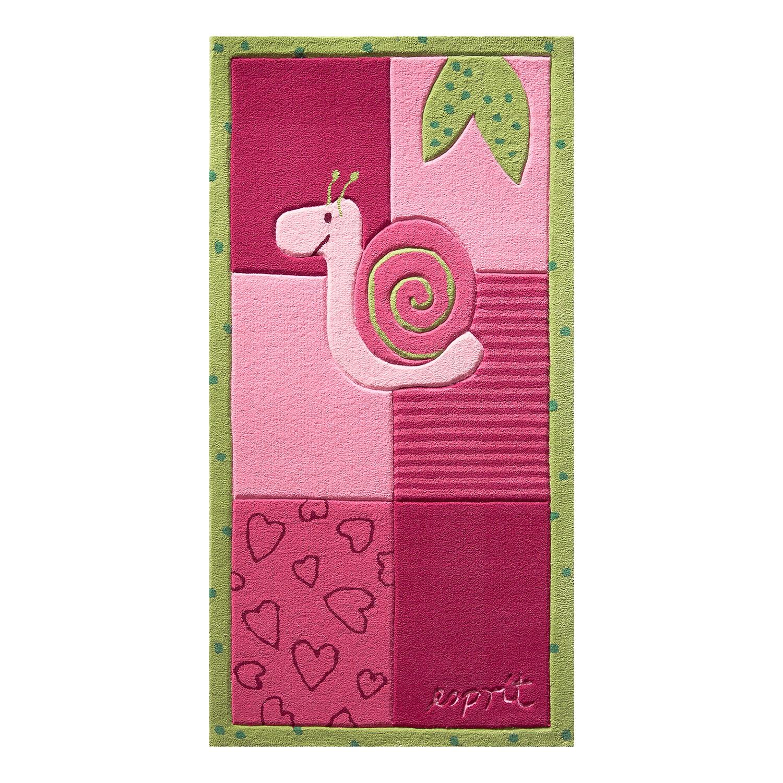 Tapijt Kids Collection   met de hand getuft roze 90x160cm_ Esprit Home
