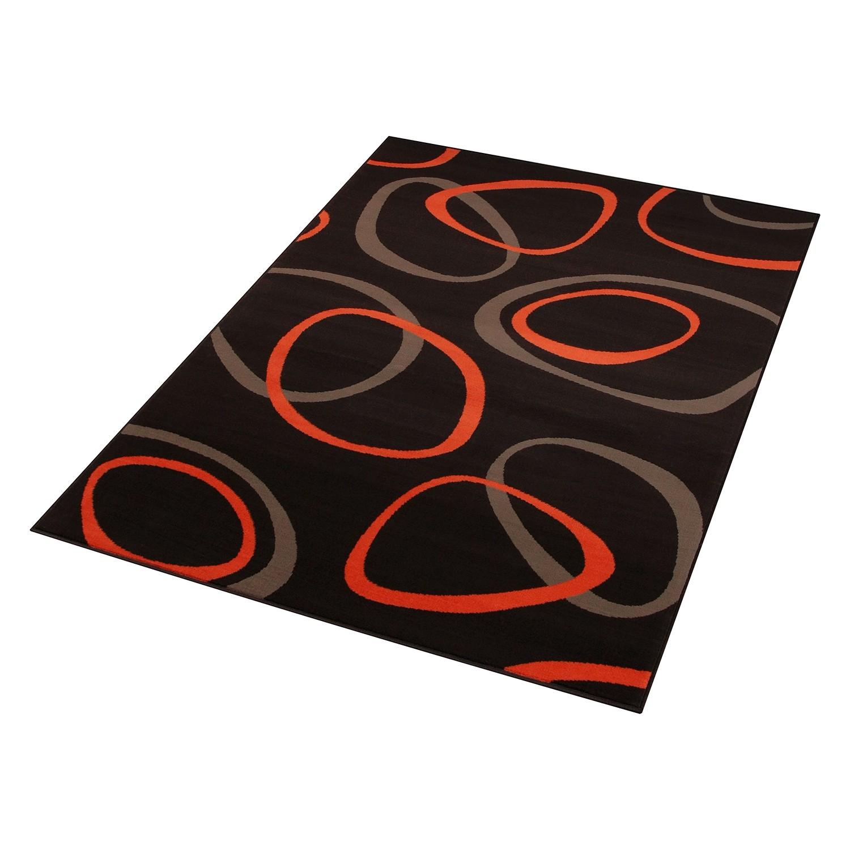 Vloerkleed Loop - Bruin/oranje - 120x170cm, Hanse Home Collection