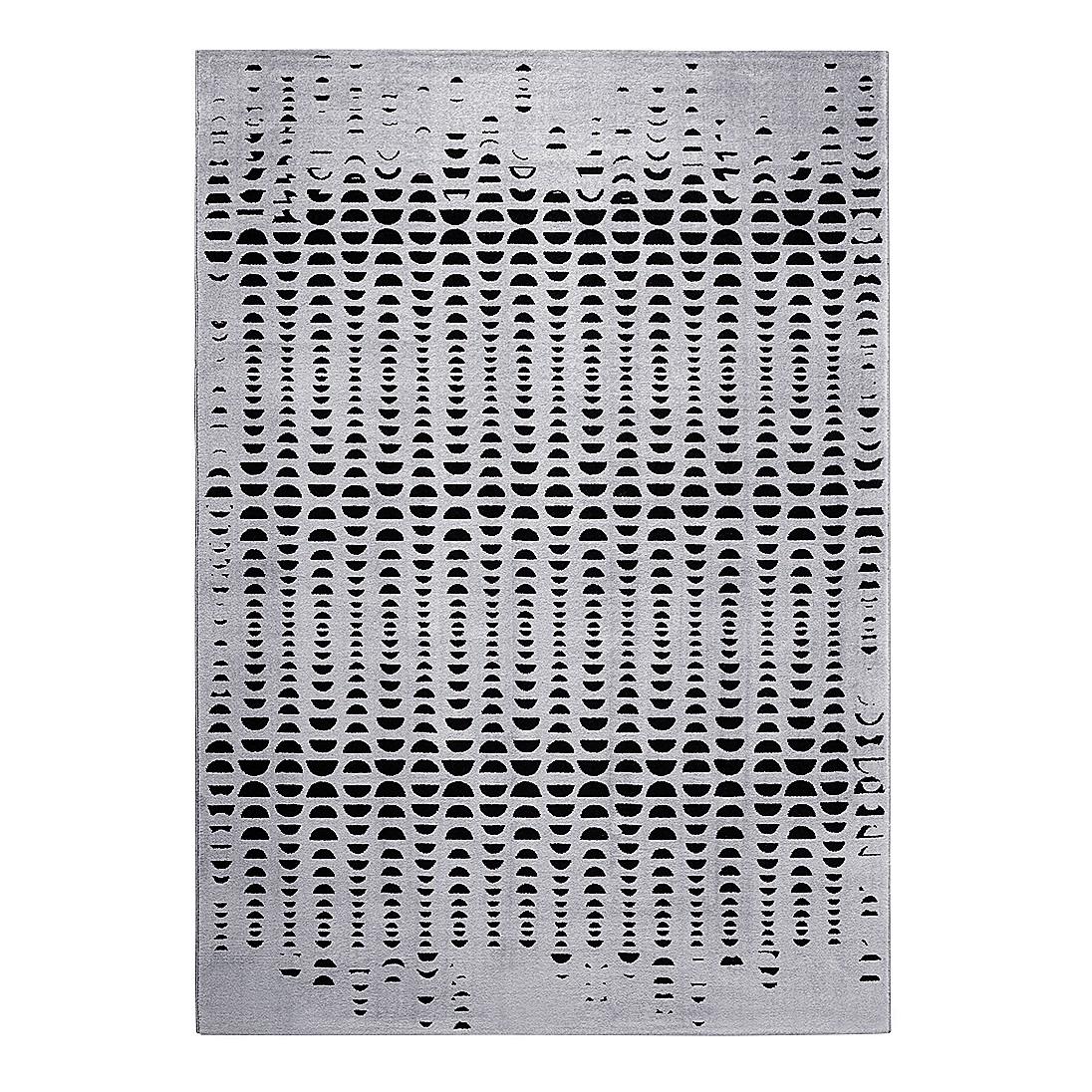 Teppich Luna - Kunstfaser - Grau / Schwarz - 200 x 290 cm, Esprit Home