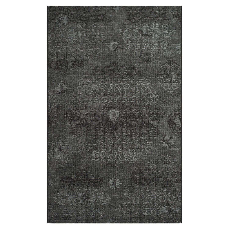 Teppich Malta - Schwarz/Grau - 153 x 244 cm, Safavieh
