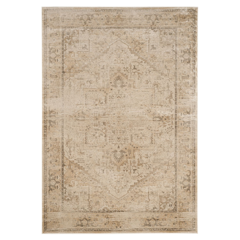 Teppich Maxime Vintage - Kunstfaser - Steingrau - 99 x 170 cm, Sa bei Home24 - Sonderangebote