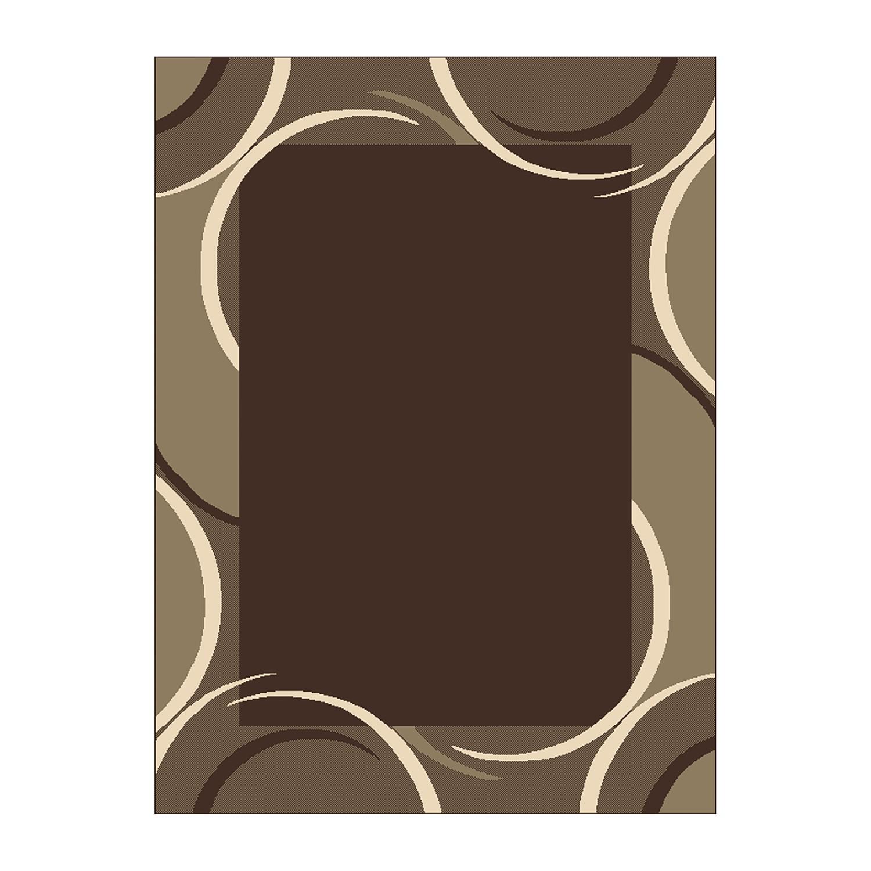 Home 24 - Tapis prime pile circular - marron - 190 x 280 cm, hanse home collection