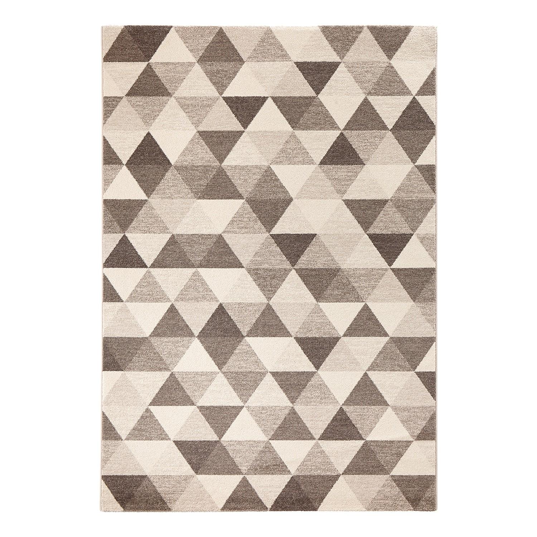Tapijt Prisma - kunstvezels - Bruin - 200x290cm, Morteens