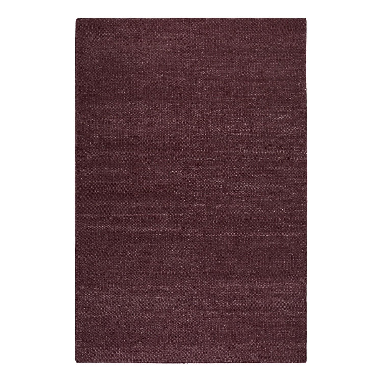 Vloerkleed Rainbow Kelim - handgeweven - katoen - Bordeauxrood - 130x190cm, Esprit Home