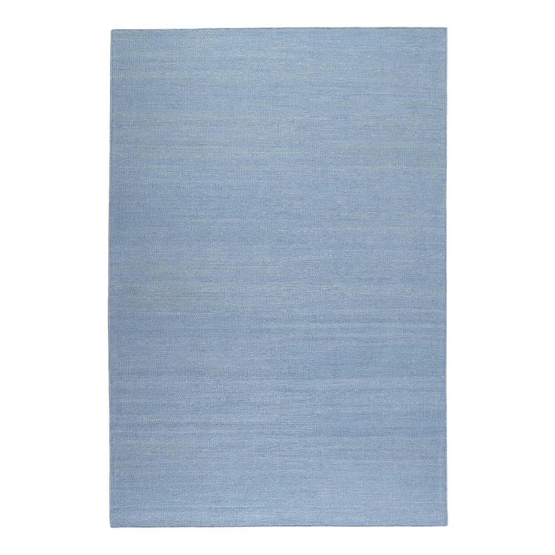 Vloerkleed Rainbow Kelim - handgeweven - katoen - Mat lichtblauw - 130x190cm, Esprit Home