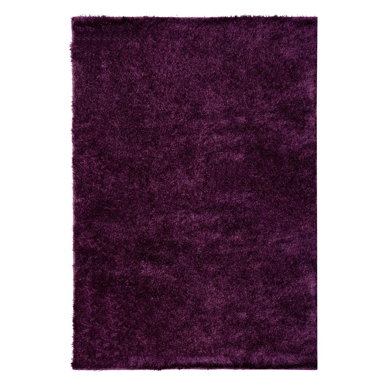 Tapijt Saladin - kunstvezels - Donker paars - 200x300cm, loftscape