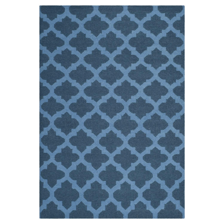 Tapijt Salé - blauw blau 153x244cm, Safavieh
