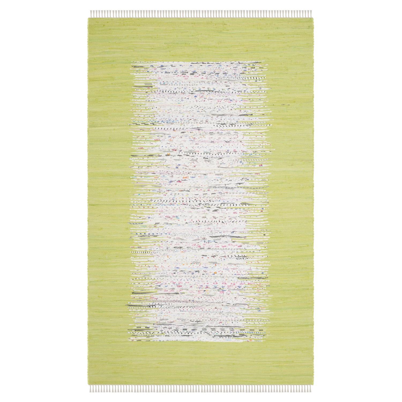 Tapijt Saltillo - Appelgroen - 121x182cm, Safavieh