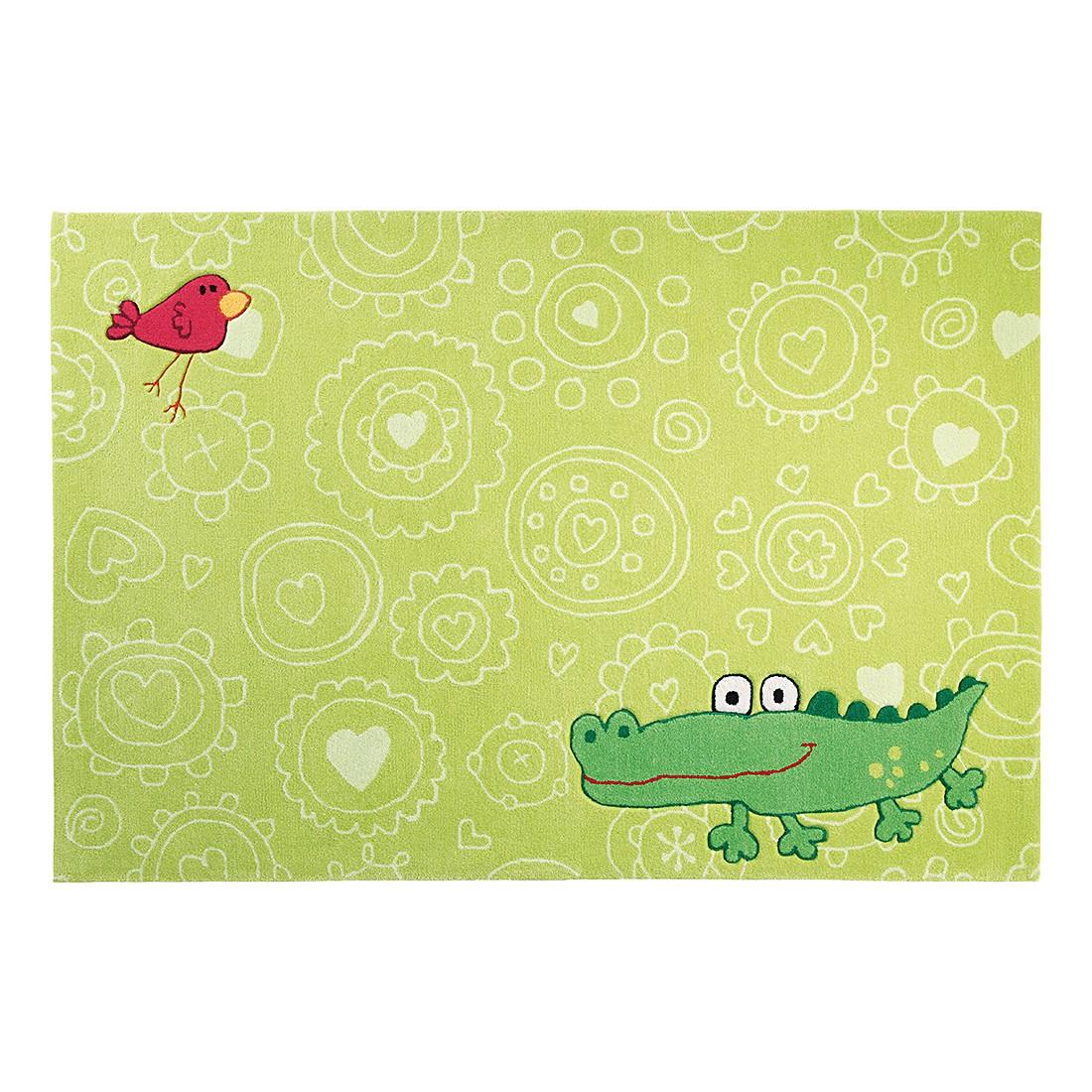 Tapijt Sigikid Crocodile Happy Zoo Big Size groen   120x180cm_ Sigikid