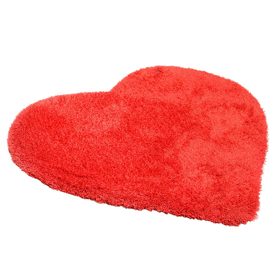 Home 24 - Tapis soft heart - rouge - dimensions : 100 x 100 cm, tom tailor