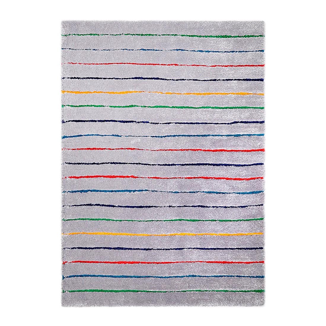 Tapijt Soft Hidden - grijs/meerkleurig - maat: 140x200cm, Tom Tailor