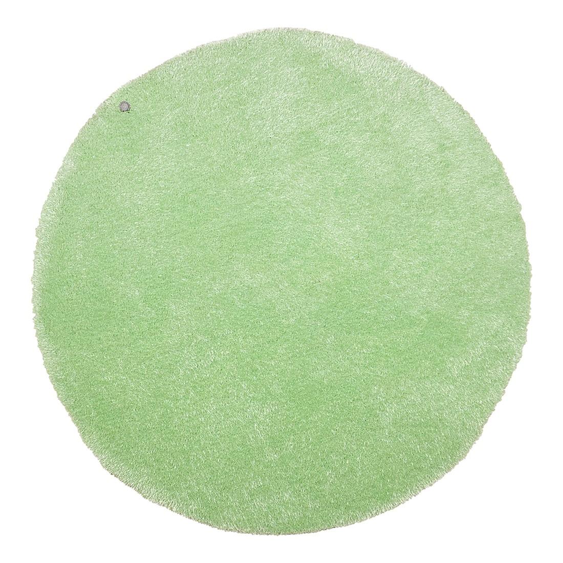Image of Tappeto Soft Round - Verde menta - Dimensioni: 140 x 140 cm, Tom Tailor