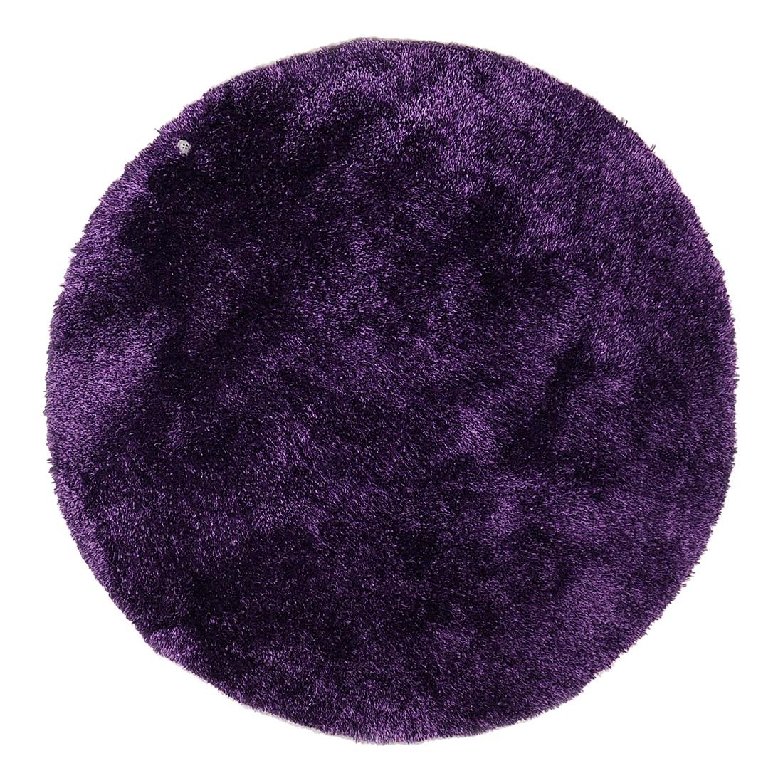 Teppich Soft Round - Violett - Maße: 140 x 140 cm, Tom Tailor