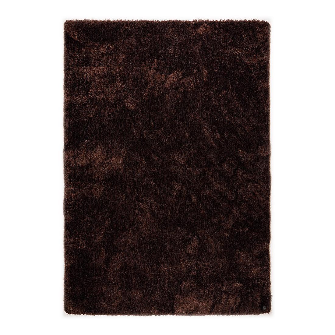 Tapijt Soft Square - chocoladekleurig - maat: 160x230cm, Tom Tailor