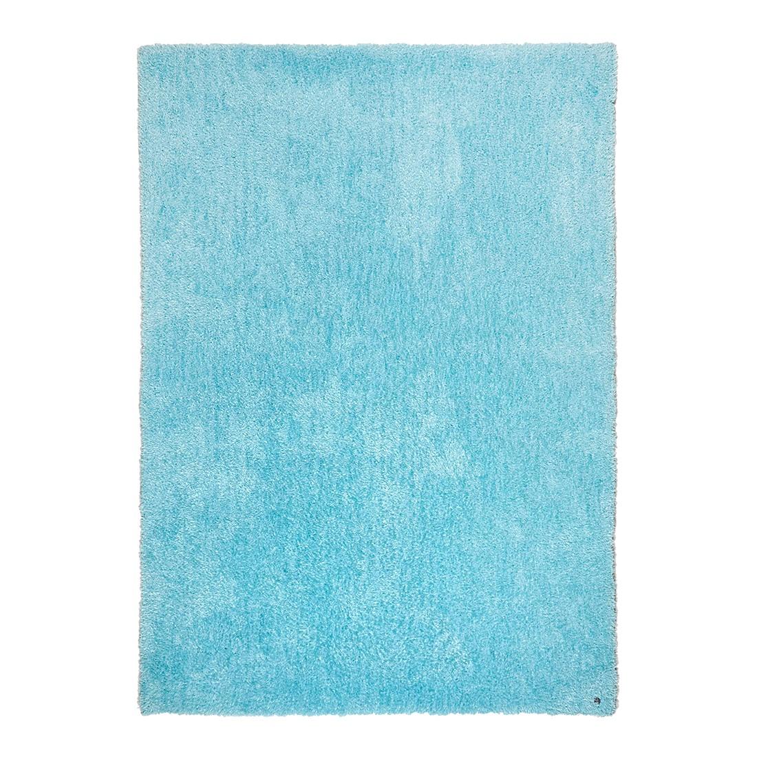 Tapijt Soft Square II - zeeblauw Round maat: 190x190cm, Tom Tailor