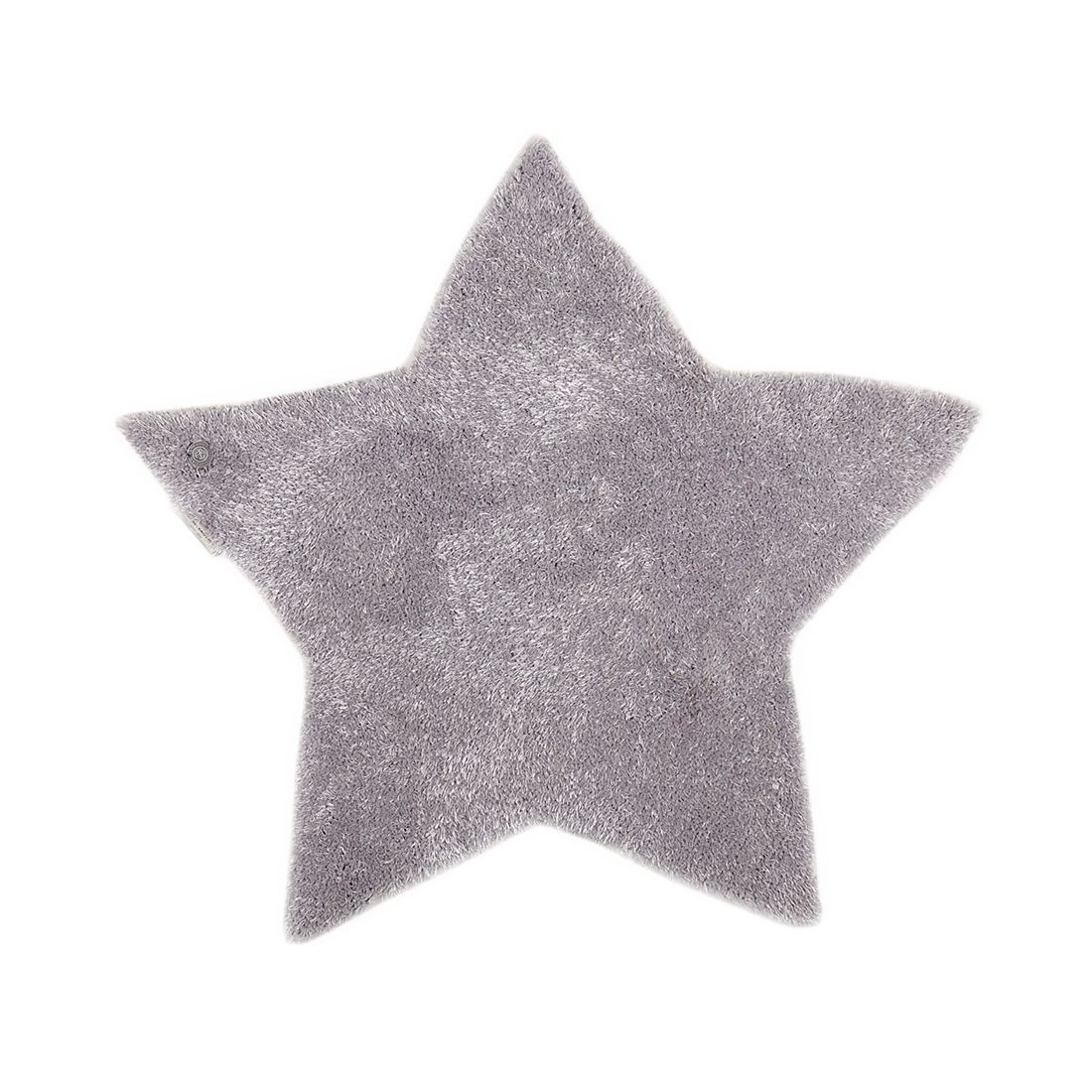 Home 24 - Tapis soft star - gris - 100 x 100 cm, tom tailor