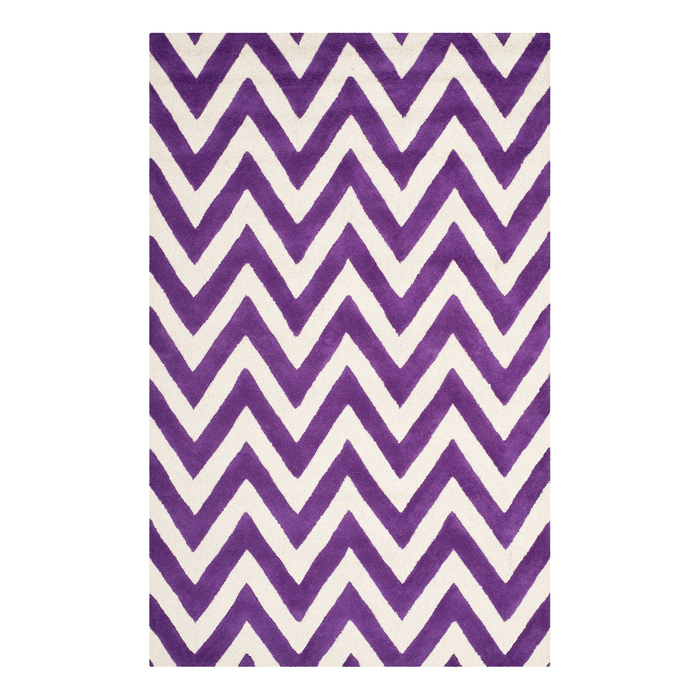 Teppich Stella - Violett - 121 x 182 cm, Safavieh