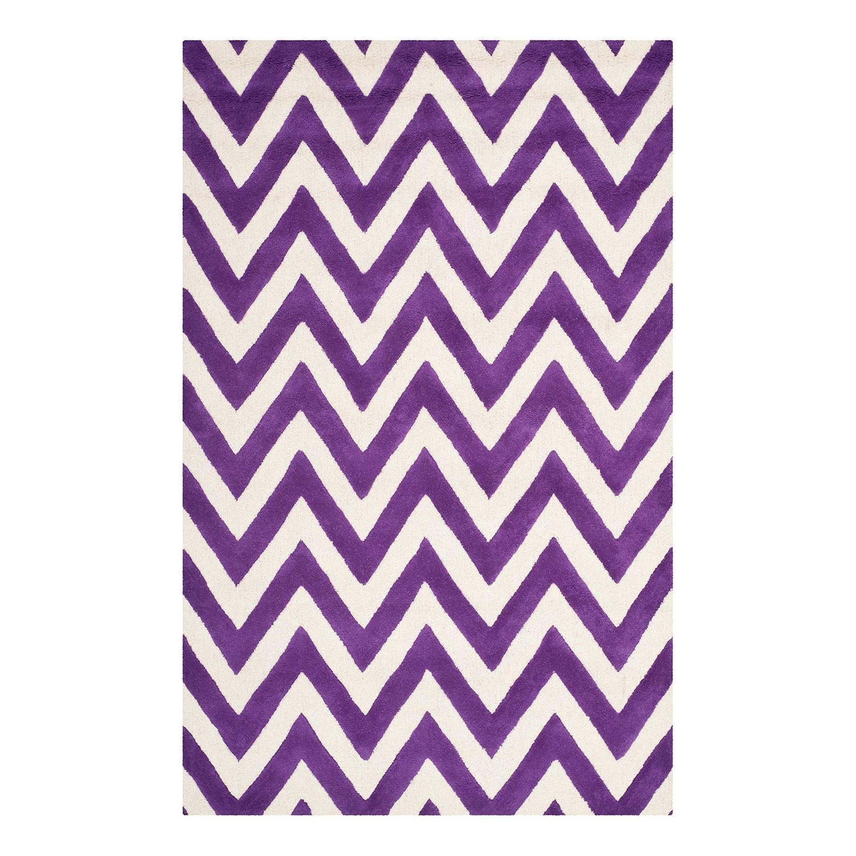 Teppich Stella - Violett - 152 x 243 cm, Safavieh