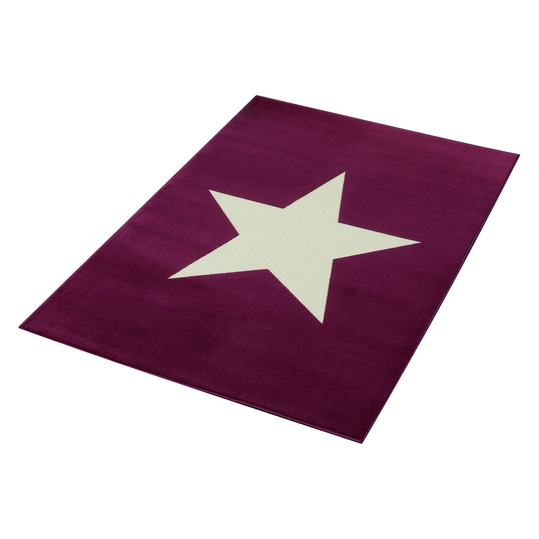 Teppich Stern II - Violett, Hanse Home Collection