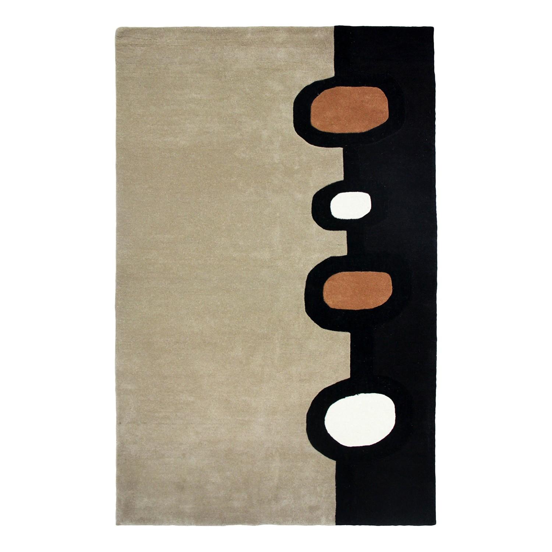 Wollteppich Stovby - Wolle - Mehrfarbig - 160 x 230 cm