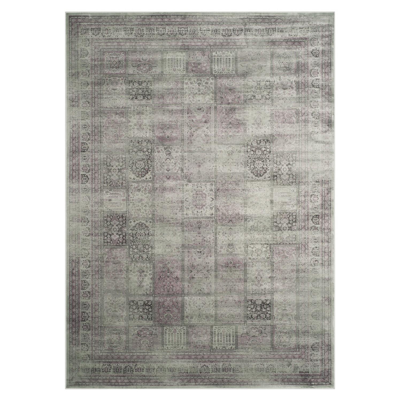 Teppich Suri Vintage - 161 x 232 cm - Violett, Safavieh