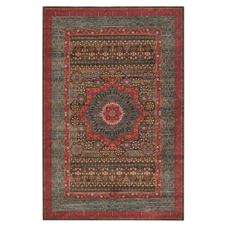 Tapijt Sutton Woven - kunstvezel - meerdere kleuren - 121x182cm, Safavieh