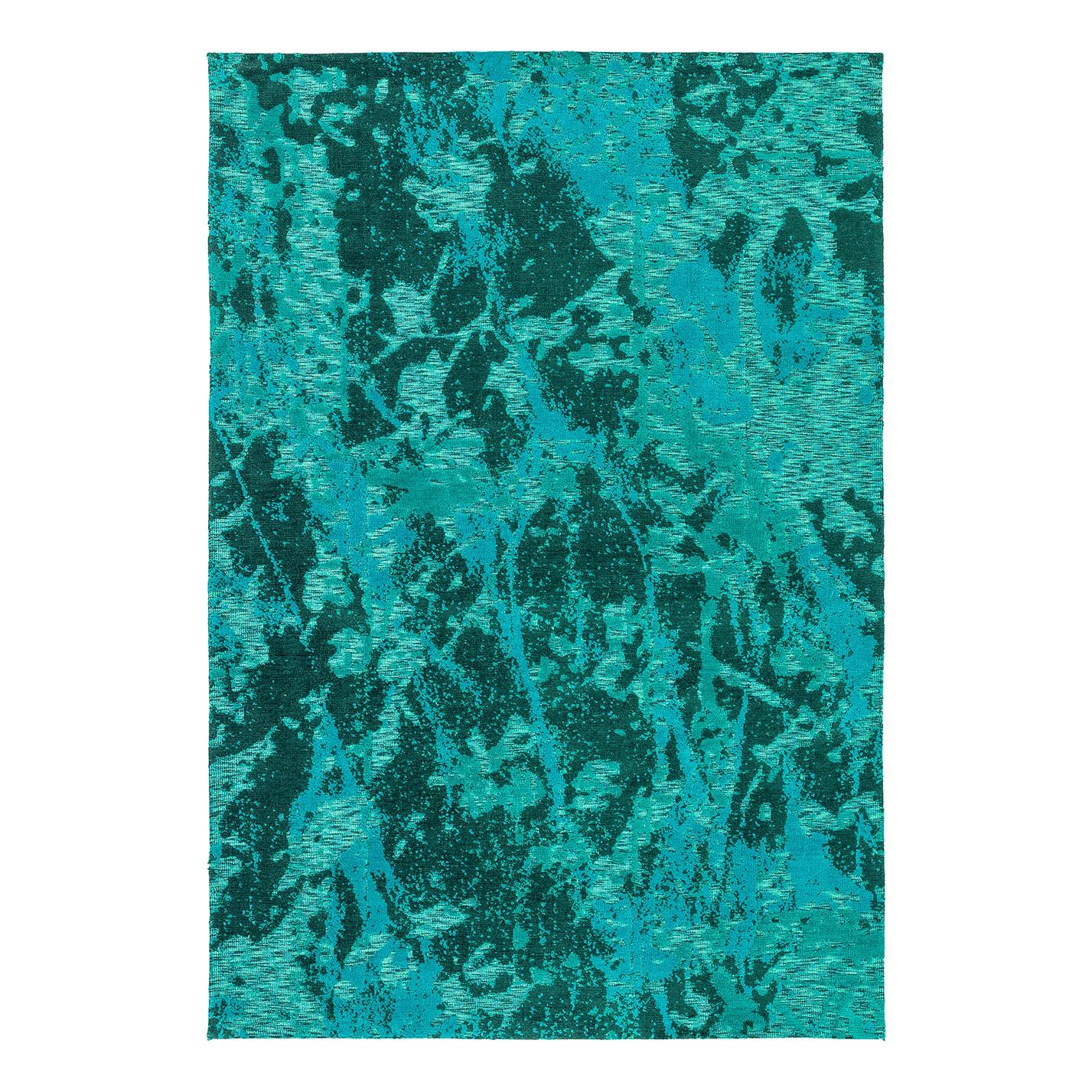 Vloerkleed Teramo II - kunstvezel - Turquoise - 140x200cm, Astra