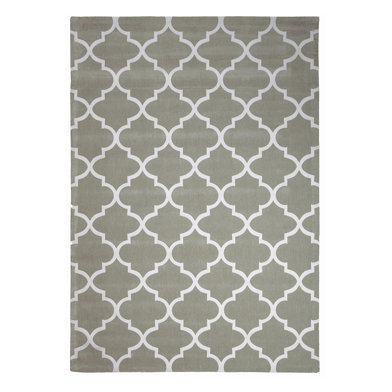 Teppich Tiva - Mischgewebe Mintgrau 160 x 230 cm