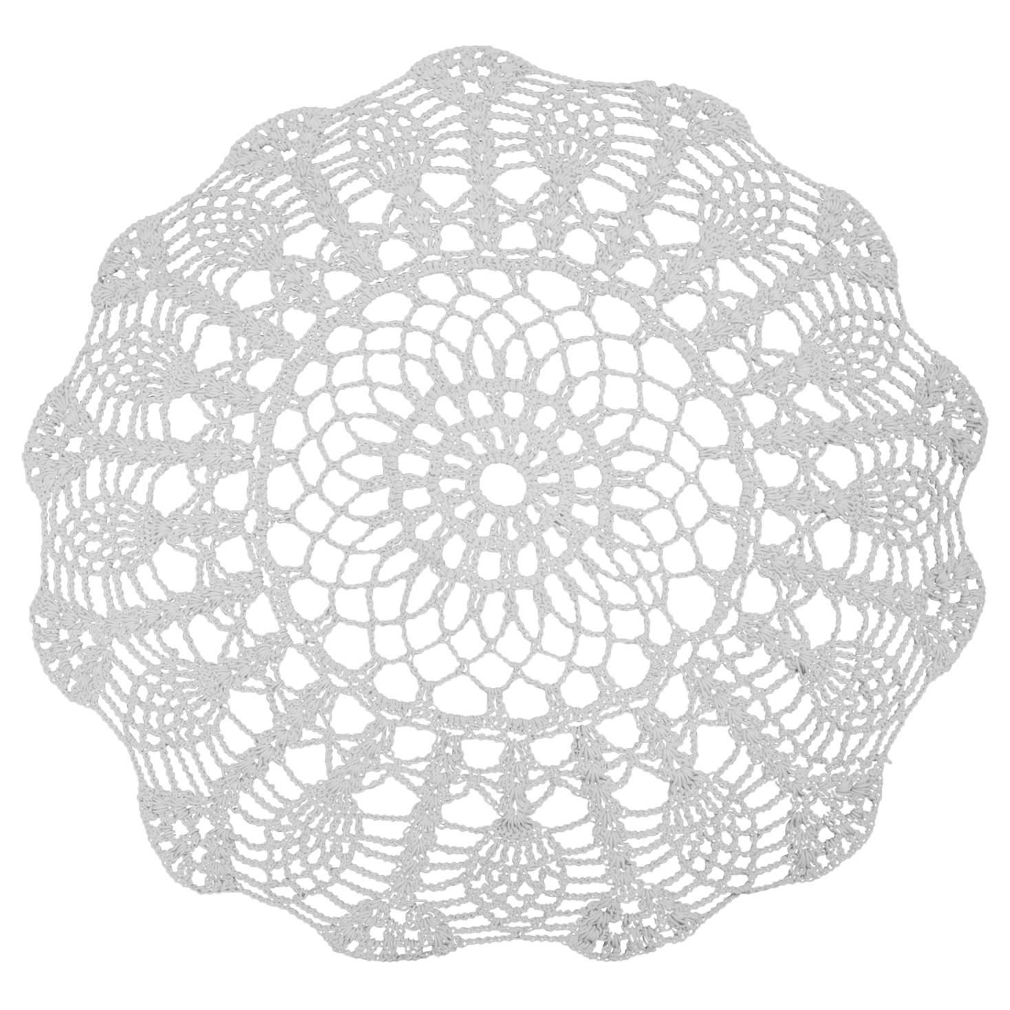 Oosters tapijt Utena - katoen - wit, Maison Belfort