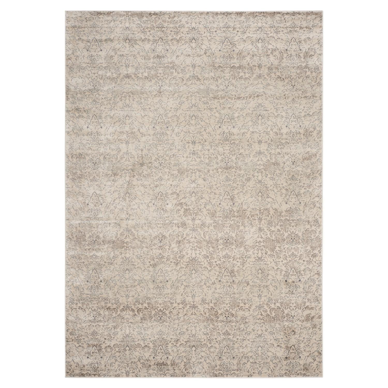 Tapijt Valence Vintage - crèmekleurig/grijs: crèmekleurig/grijs afmetingen: 121x170cm, Safavieh