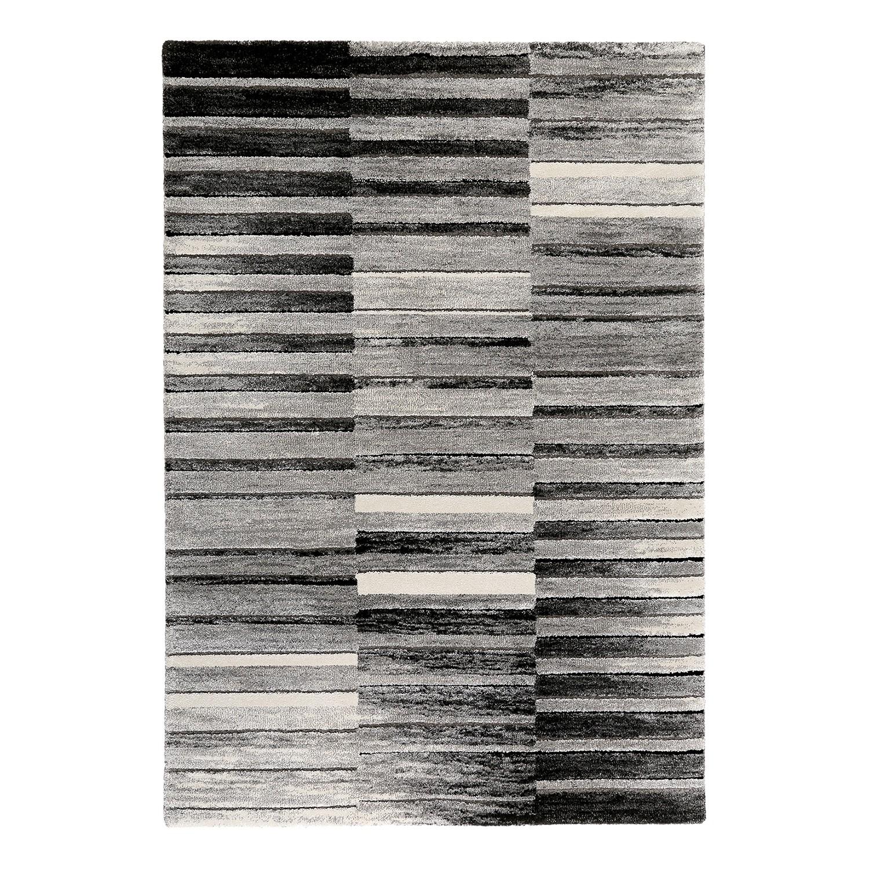 Vloerkleed Wild Stripes - kunstvezels - grijs/beige - 80x150cm, Esprit Home