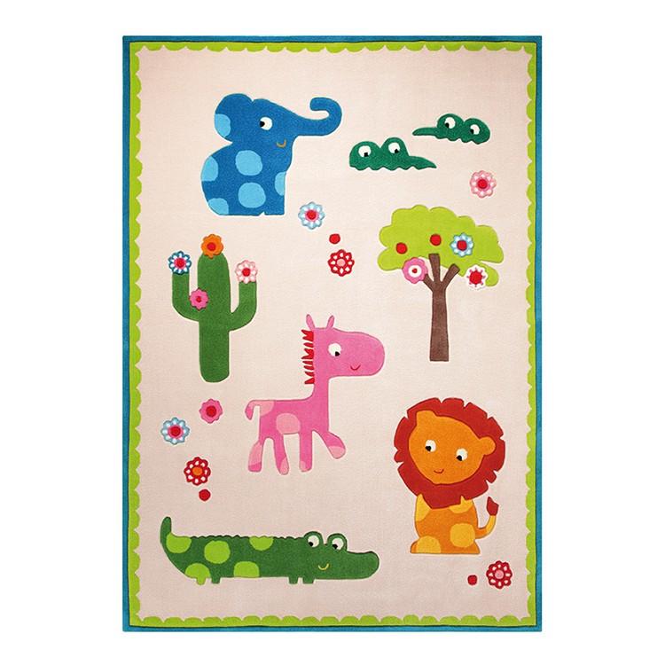 Home 24 - Tapis pour enfant zoo - beige - 120 x 180 cm, esprit home