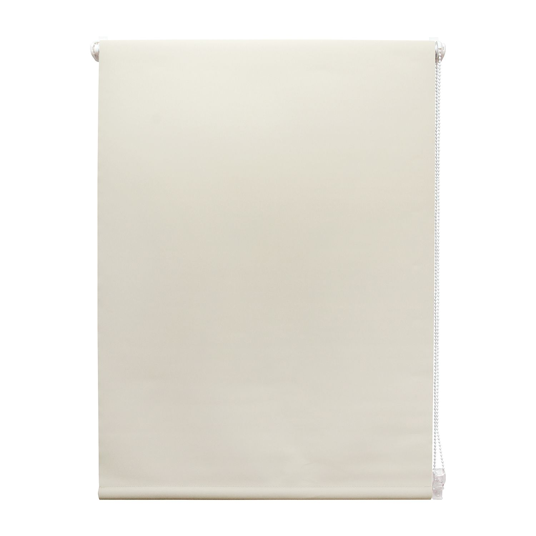 Thermo-/ verduisteringsgordijn Swansea - kunststof/kunstvezel - Crème - 80x160cm, Furnitive