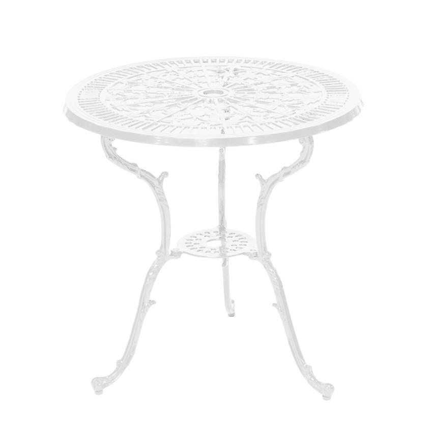 Tavolo Lugano - Alluminio Bianco, Merxx