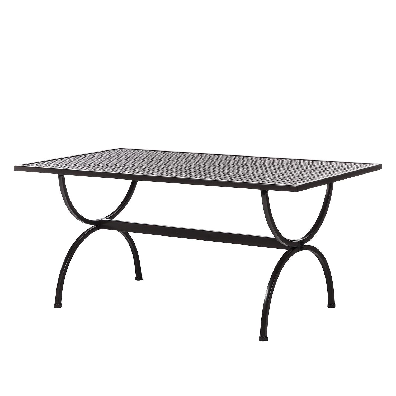 Tisch Spring Hill - Schmiedeisen - 160 x 73 x 90 cm, Mbm