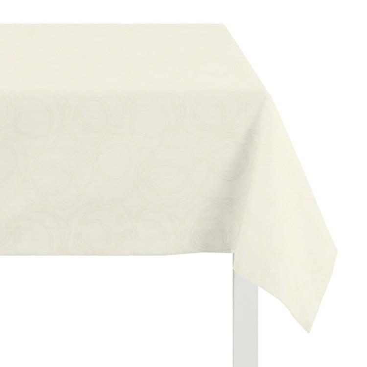 Tafelkleed Alabama - Lichtbruin - 150x250cm, Apelt