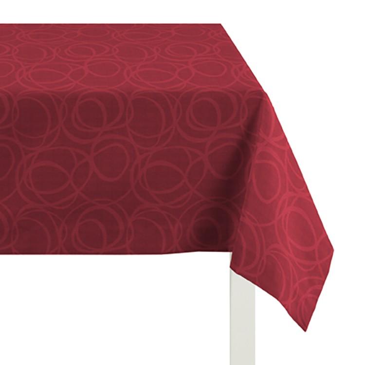 Tafelkleed Alabama - Rood - 150x250cm, Apelt