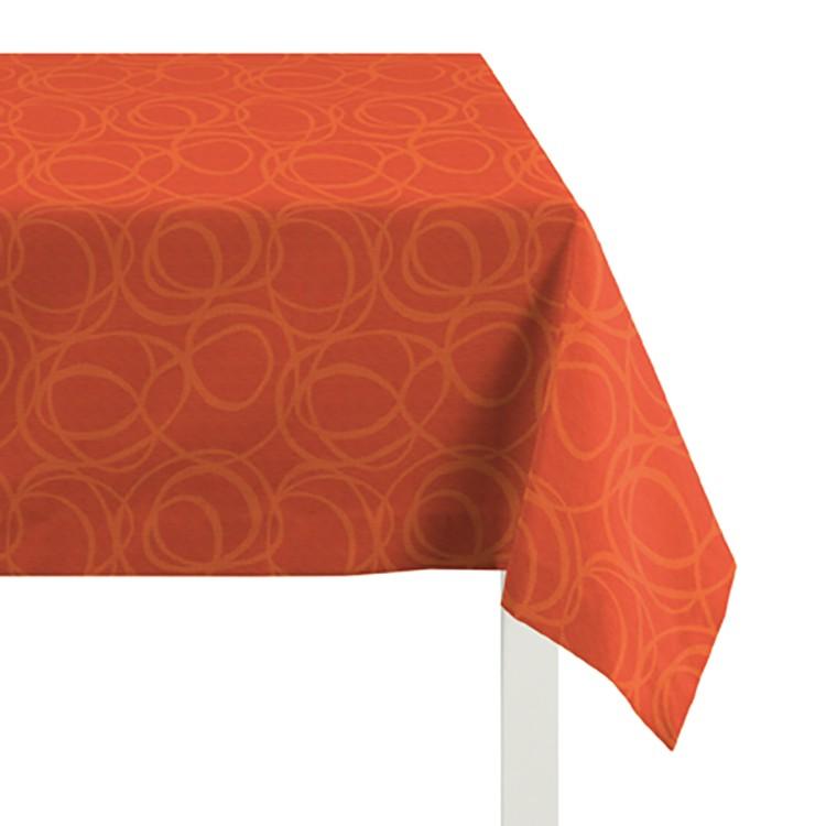 Tafelkleed Alabama - Rood /Oranje - 85x85cm, Apelt