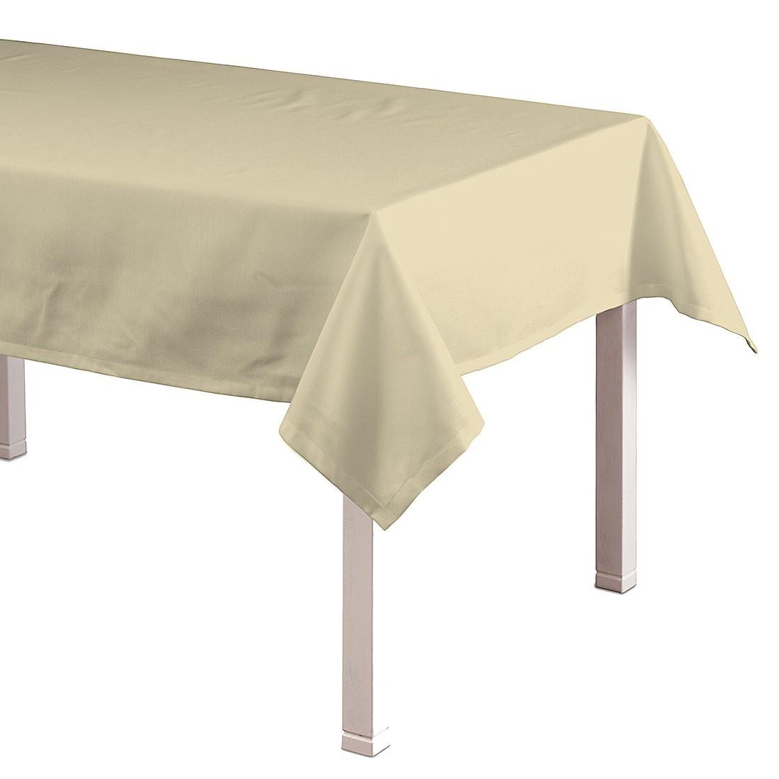 Tafelkleed Loneta - Beige - 130x130cm, Dekoria