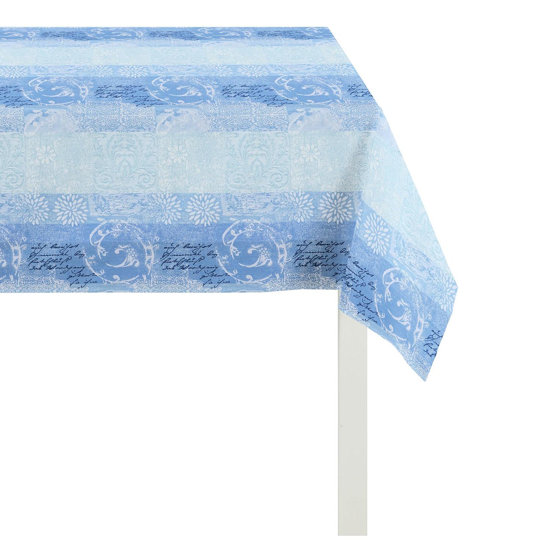 Tafelkleed Summer Garden II - Blauw - 130x130cm, Apelt