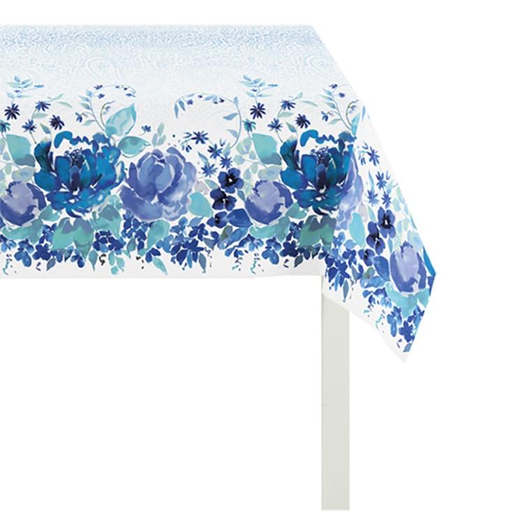 Tafelkleed Summer Garden IV - Blauw - 150x250cm, Apelt