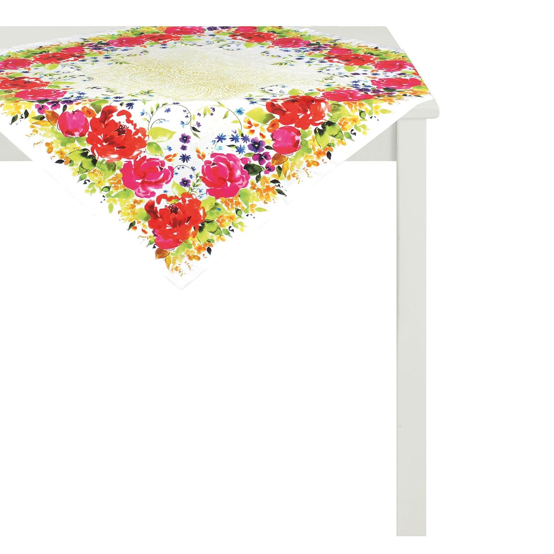 Tafelkleed Summer Garden IV - Meerkleurig - 95x95cm, Apelt