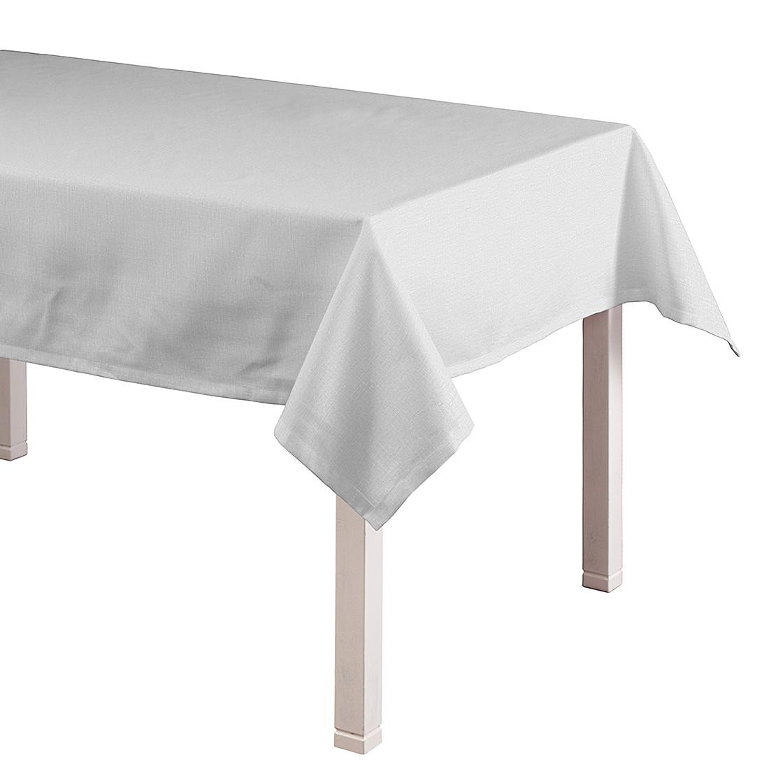 Tafelkleed Linen - Ivoorkleurig - 130x160cm, Dekoria