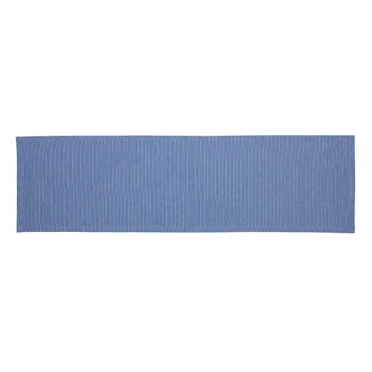 Tafelloper Needlestripe - indigoblauw, Esprit Home