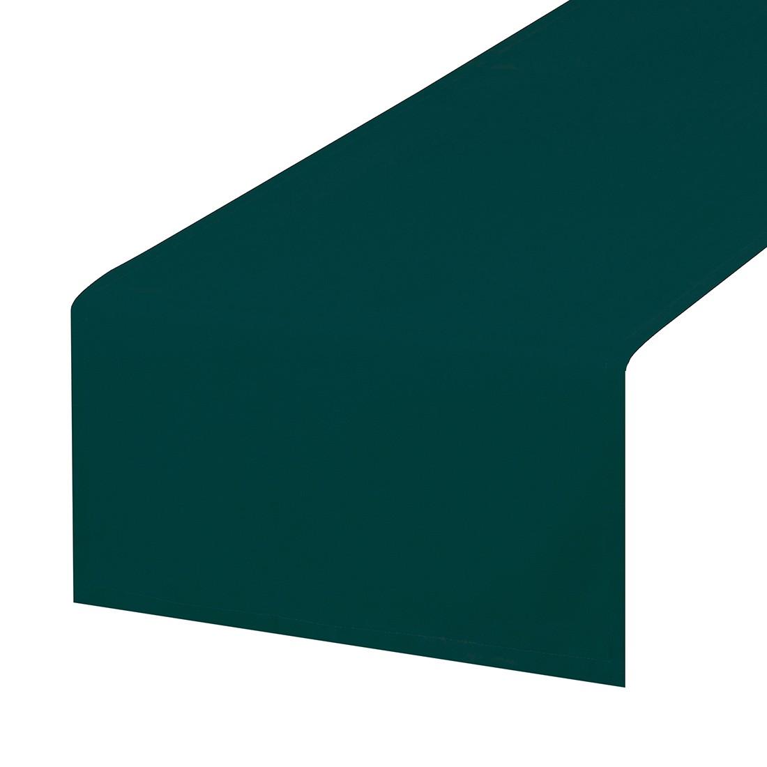 Tafelloper T- Dove - aquamarijn - afmetingen: 50x150cm, Tom Tailor