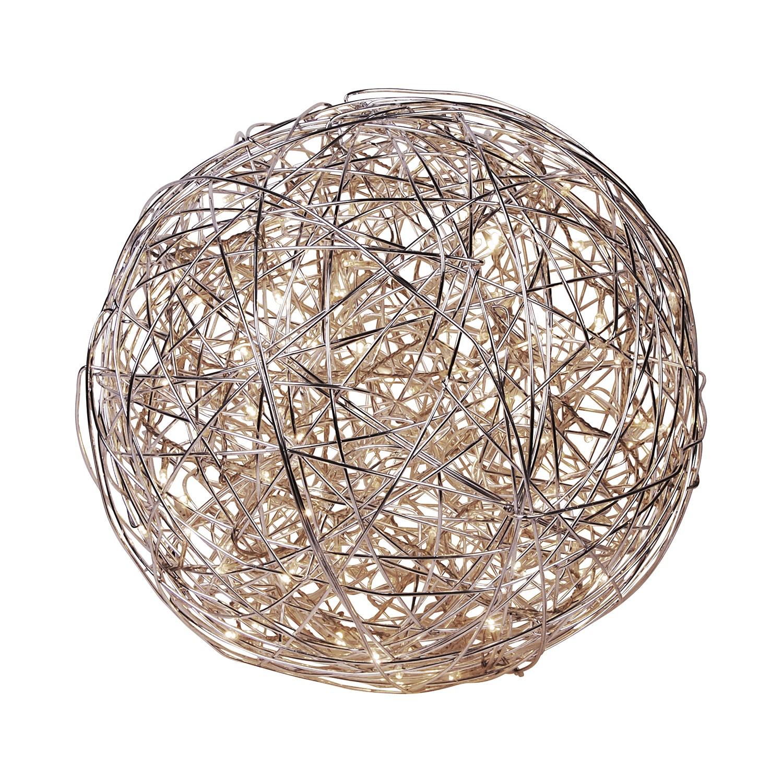 EEK A+, Lampe de table - Aluminium 150 ampoules, Näve